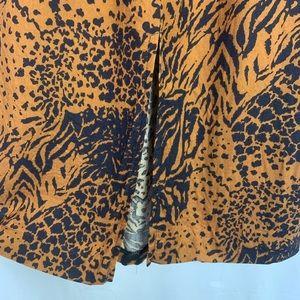 Vintage Skirts - 4/$20🛍 Vintage 80's Animal Print Midi Skirt